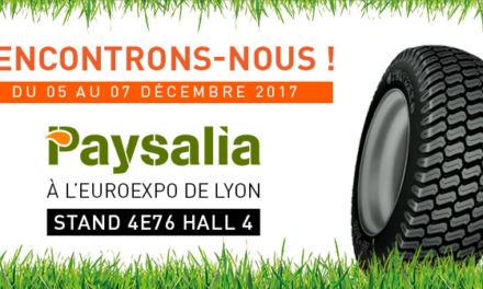Edito #157 : Allopneus Agricole au salon Paysalia 2017 !