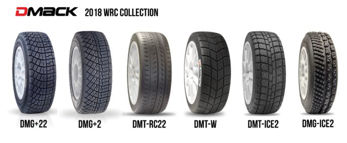 gamme pneus rallye DMACK