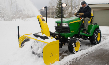 Pneus espaces verts : équipez-vous pour l'hiver !