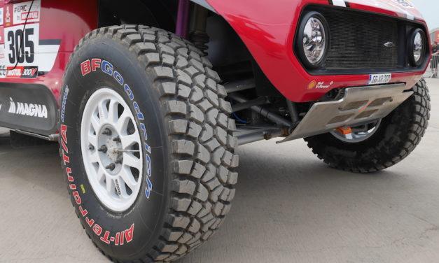 Le rallye Dakar avec BFGoodrich