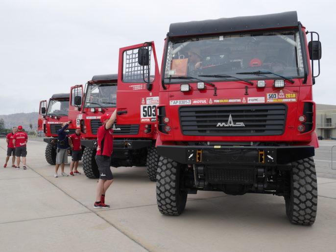 Camion concurrent Dakar