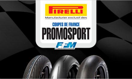 Les Coupes de France Promosport en Pirelli pour 2018