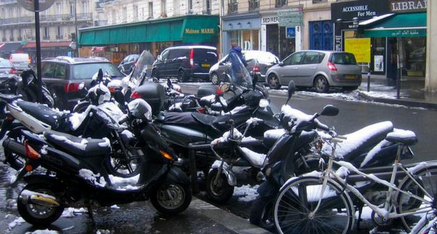 Les pneus hiver pour scooters