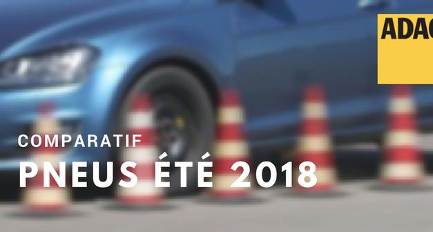 Comparatifs de pneus été 2018 en 205/55R16 par l'ADAC