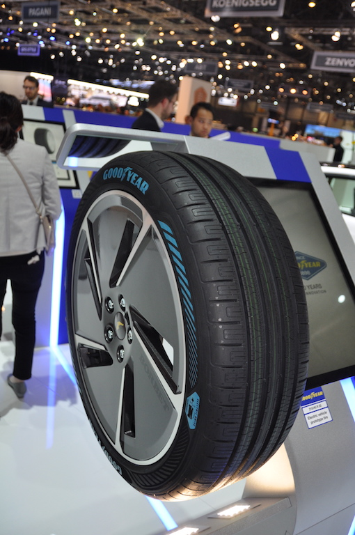 Goodyear Geneve 2018 Electric Drive