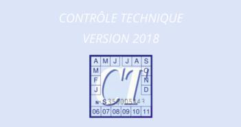 Contrôle technique nouvelle règlementation 2018