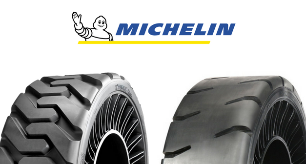 Pneu MICHELIN X-Tweel : un pneu radial sans air !