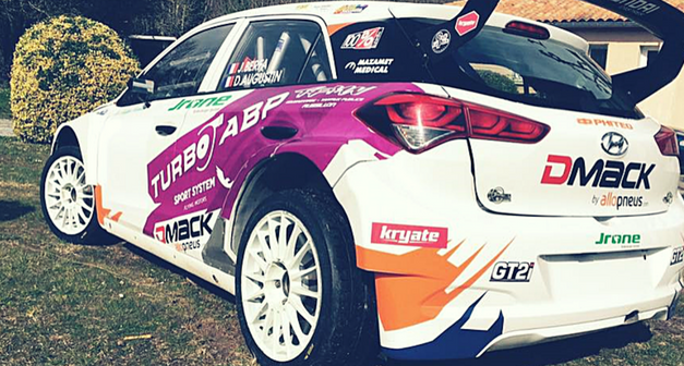 Rallye du Touquet ce weekend, en pneus DMACK