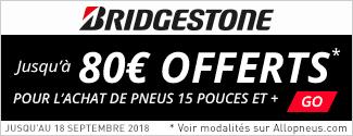 Promo Bridgestone