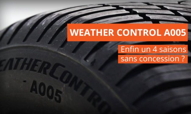 BRIDGESTONE WEATHER CONTROL A005 : le pneu 4 saisons parfait ?