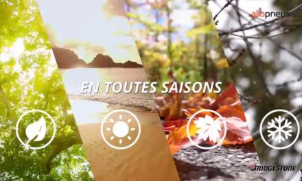 [Vidéo] Découvrez le Bridgestone Weather Control A005 : le 4 saisons ultra performant