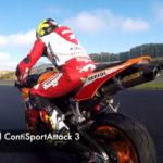 Freddy Foray teste les Conti Sport Attack 3