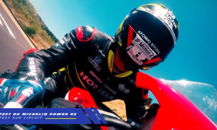 Freddy Foray teste le Michelin Power RS