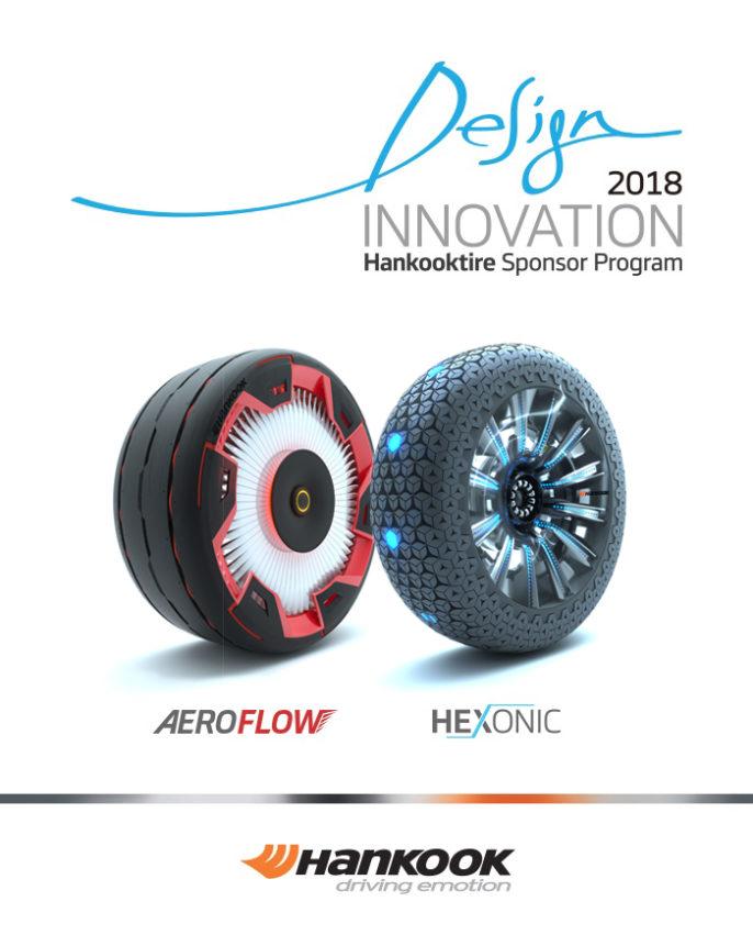 Les pneus concepts Hankook Aeroflow et Haxonic