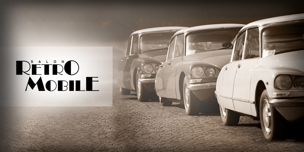 Allopneus.com en force à Rétromobile 2019