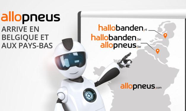 ALLOPNEUS se déploie en Belgique et aux Pays-Bas