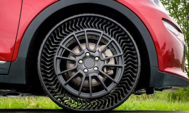 MICHELIN Uptis, le nouveau pneu increvable sans air