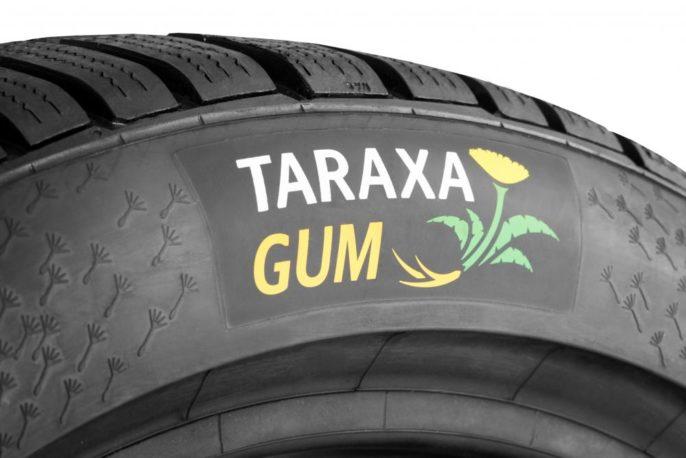 pneus en pissenlit avec la technologie Taraxagum de Continental
