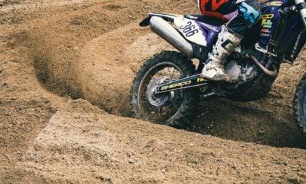 Le Bib Mousse de Michelin, star du moto cross et de l'enduro