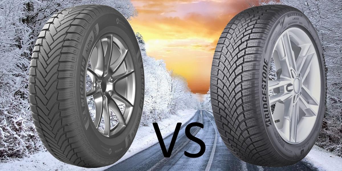 MICHELIN Alpin 6 vs. Bridgestone Blizzak LM005
