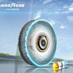 Nouveau concept de pneu rechargeable par Goodyear