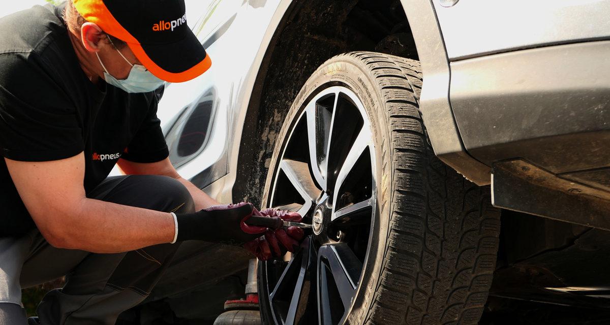 Faites monter vos pneus à domicile sans contact, une formule inédite !