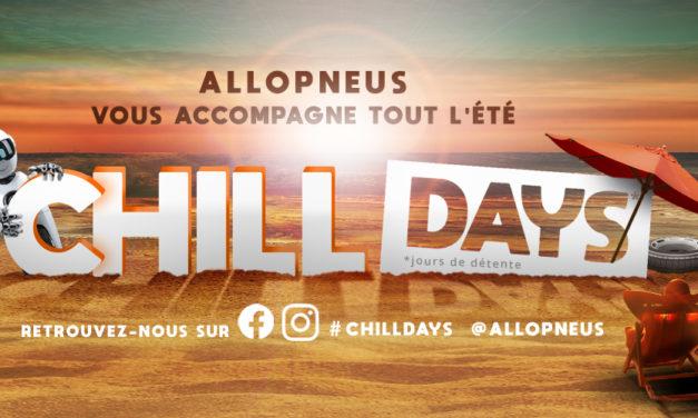 Chill days : Allopneus à vos côtés tout l'été
