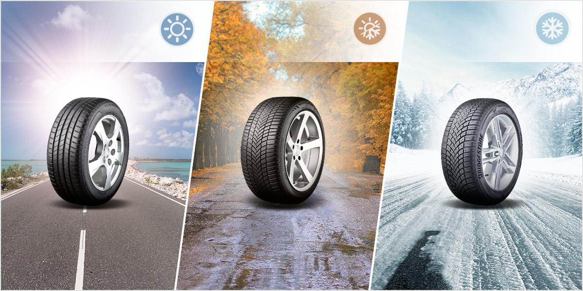 La gamme de pneus BRIDGESTONE vous accompagne dans chaque situation