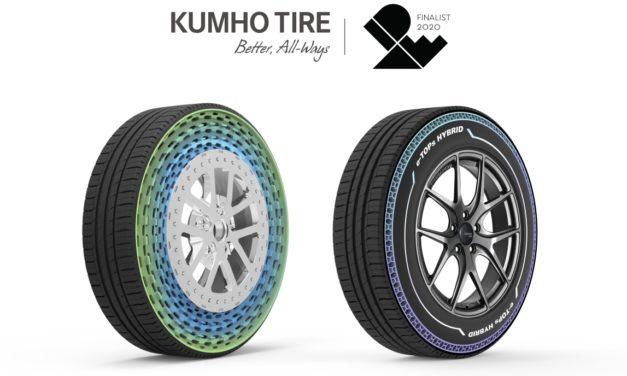 Kumho enchaîne les récompenses : un nouveau prix du design gagné
