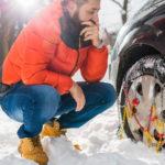 Comment poser des chaînes neige ?