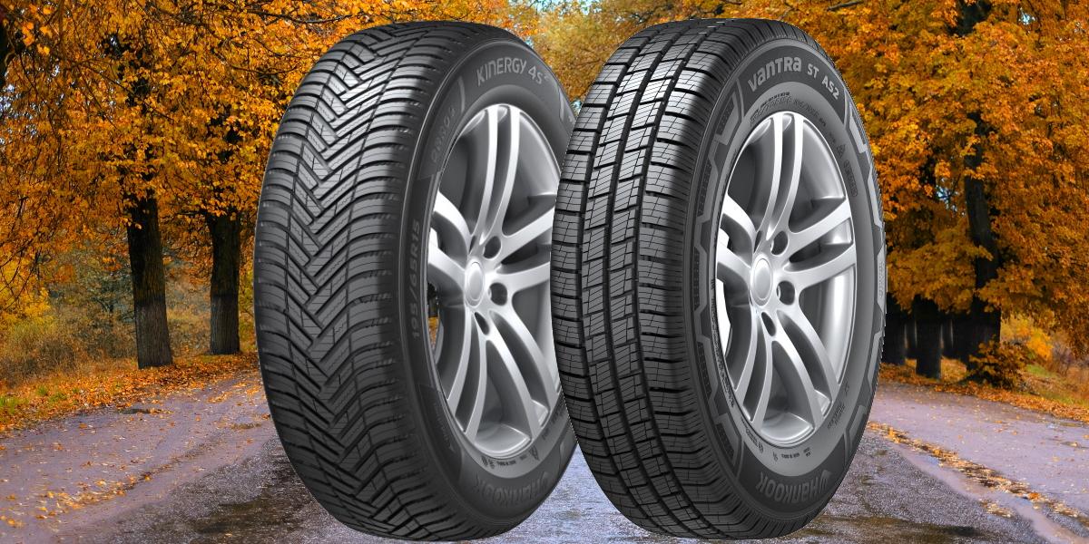 Hankook : une gamme de pneus 4 saisons pour les voitures, 4X4 et camionnettes