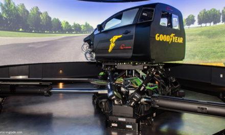 Goodyear: un deuxième simulateur de conduite