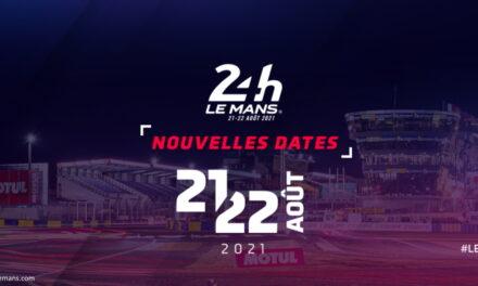 les 24 Heures du Mans finalement décalés à la fin de l'été