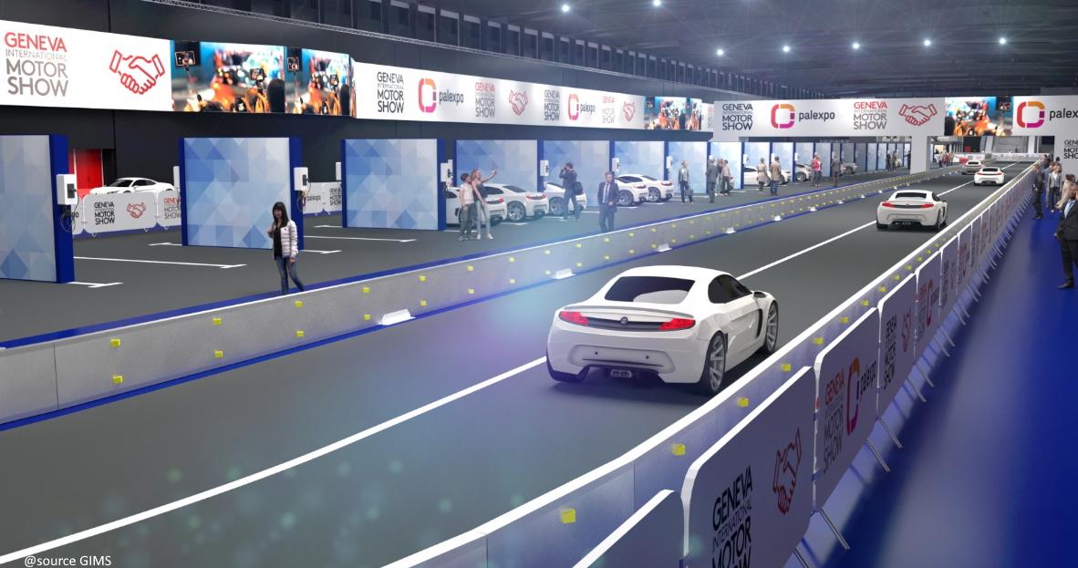 Salon de l'auto de Genève : retour en 2022 ?