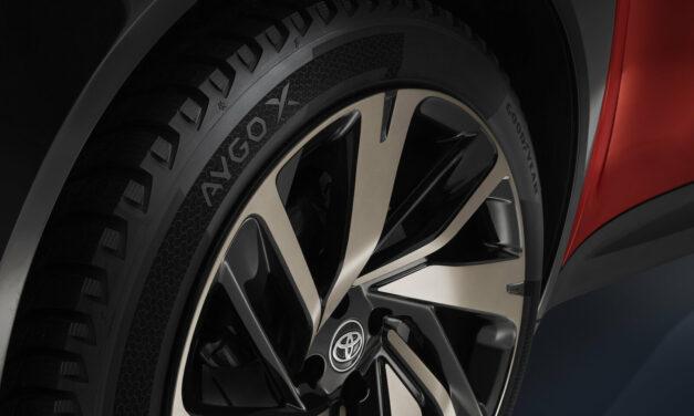 Goodyear : un pneu-concept pour l'Aygo X prologue de Toyota