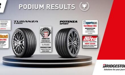 Bridgestone élu fabricant de l'année 2021, catégorie pneus été