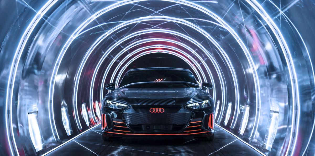 Audi approuve les pneus Hankook pour l'e-tron GT