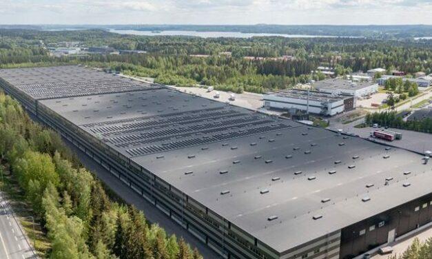 Nokian Tyres installe des panneaux solaires pour leur centre en Finlande