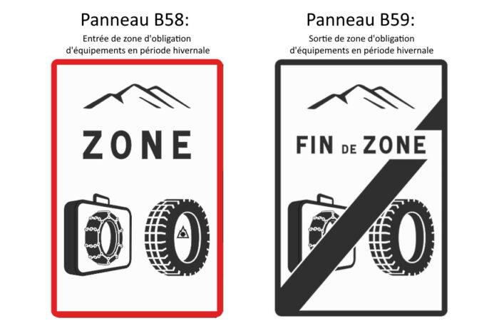 Les nouveaux panneaux de signalisation pour la Loi mONTAGNE
