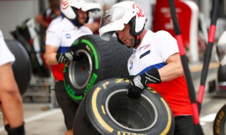 Pirelli lance un nouveau pneu arrière de F1