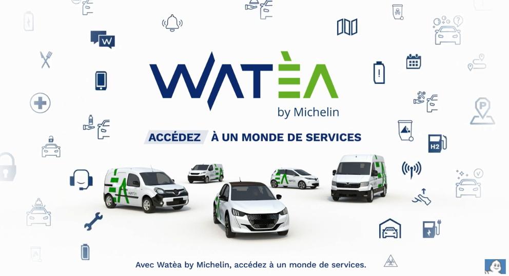 Michelin aide à l'éco-mobilité avec Watèa