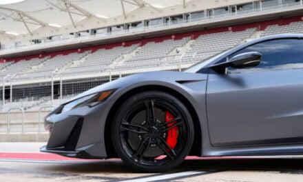 Des pneus Pirelli P Zero sur mesure pour l'Acura NSX Type S 2022