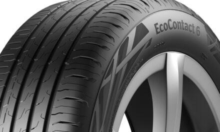 Continental réduit la résistance au roulement du pneu EcoContact 6