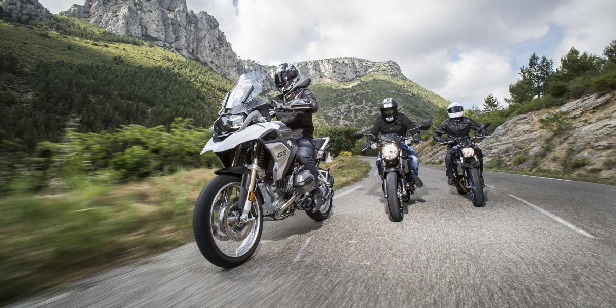 Michelin moto : La gamme de pneus routiers