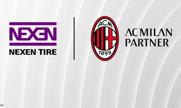 Nexen Tire devient sponsor de l'AC Milan