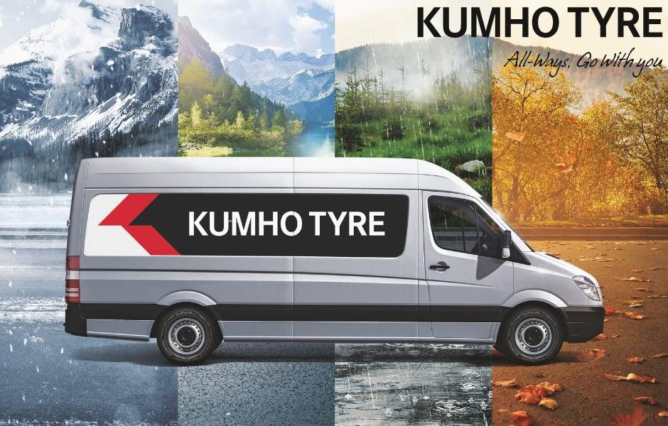 Kumho Tire : le nouveau pneu 4 saisons pour utilitaires