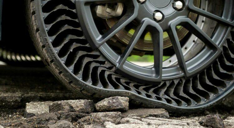 Michelin Uptis : le pneu sans air d'ici 2024 ?