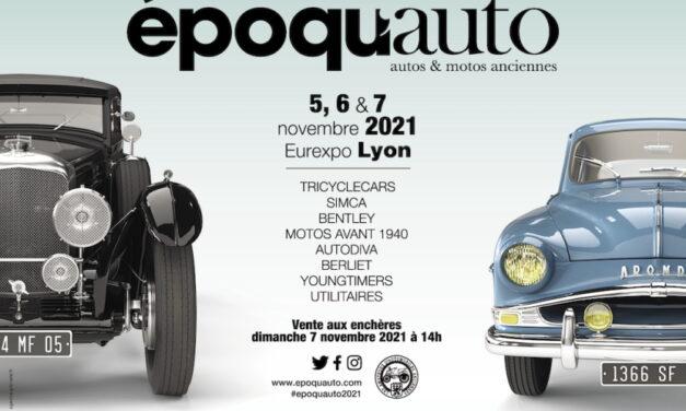 Epoqu'auto 2021 : allopneus, partenaire et exposant